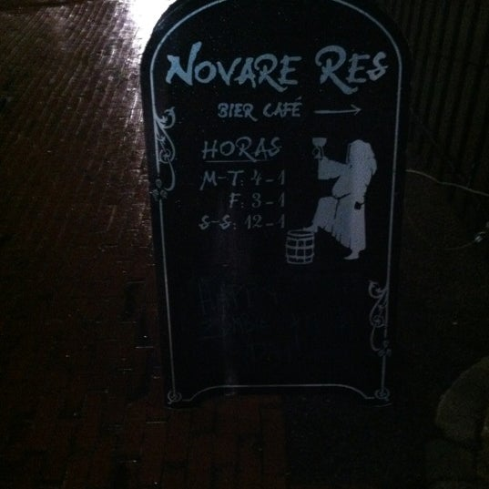 Photo taken at Novare Res Bier Cafe by Scott W. on 4/9/2012