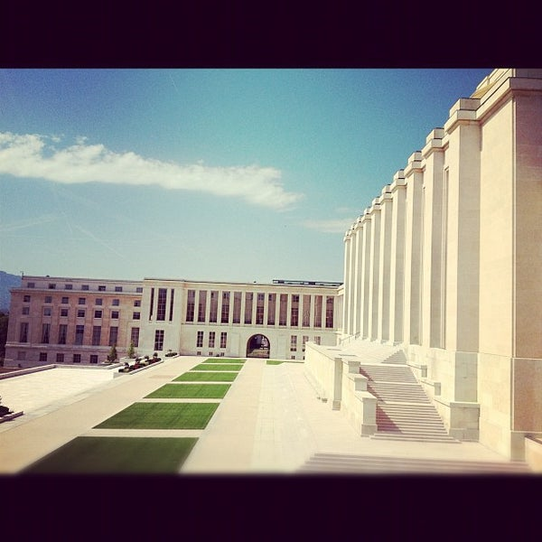 Photo taken at Palais des Nations by Patricia W. on 6/15/2012
