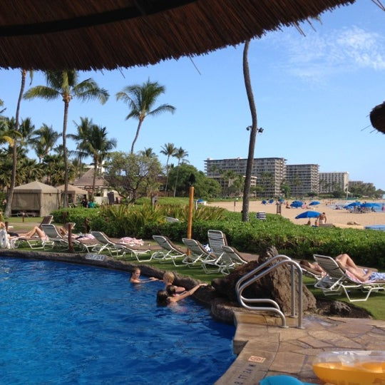 Photo taken at Sheraton Maui Resort & Spa by Emre V. on 8/25/2012