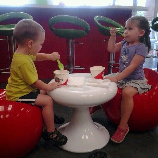Photo taken at CherryBerry Yogurt Bar by Matt P. on 7/13/2012