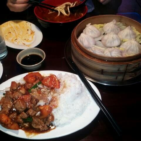 Photo taken at Shanghai Café Deluxe by Colin on 2/7/2012