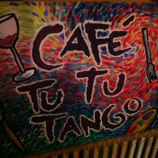 Photo taken at Café Tu Tu Tango by Herbert U. on 3/20/2012