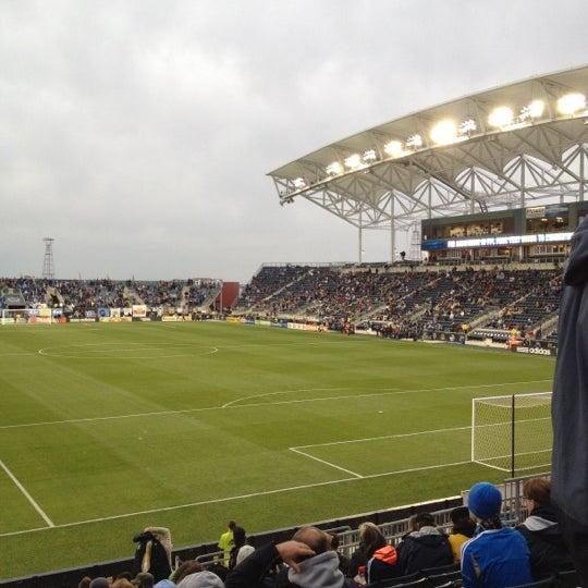 Photo taken at Talen Energy Stadium by Steven B. on 4/28/2012