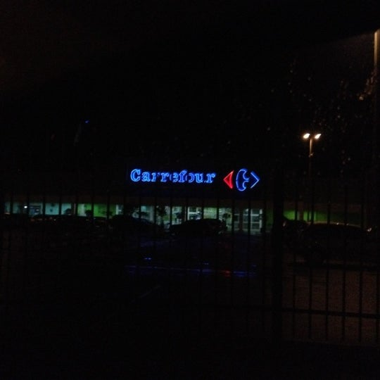 Photo taken at Carrefour by Alex M. on 6/10/2012