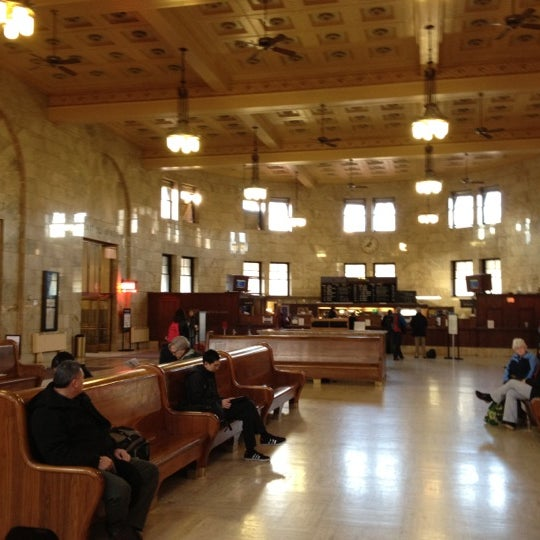 Photo taken at Union Station Amtrak (PDX) by Tim H. on 2/27/2012