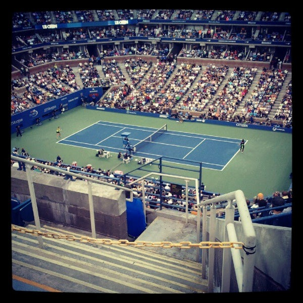 Photo taken at US Open Tennis Championships by George on 9/9/2012