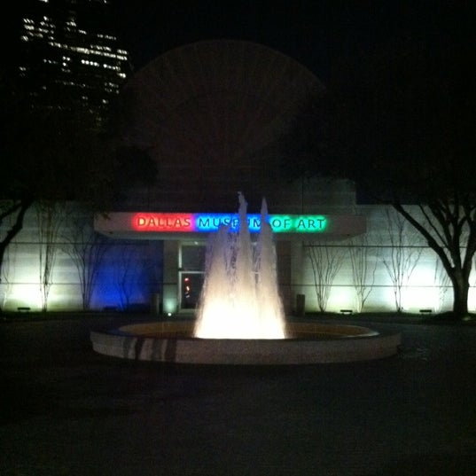 Photo taken at Dallas Museum of Art by Ted W. on 2/18/2012