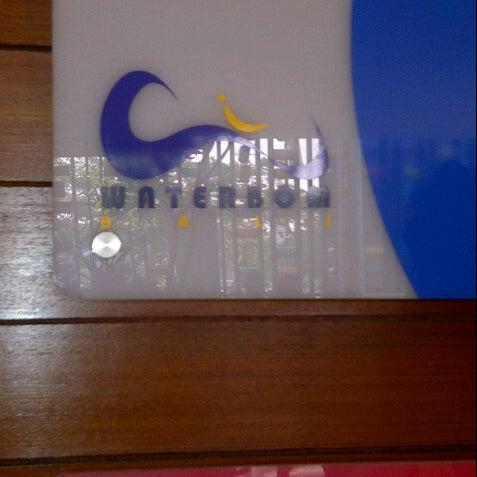 Photo taken at Waterbom Jakarta by Listy L. on 7/1/2012