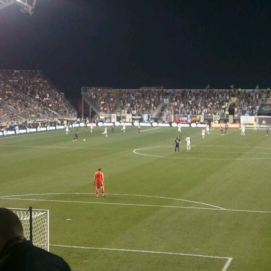 Photo taken at Talen Energy Stadium by Sean D. on 8/25/2012