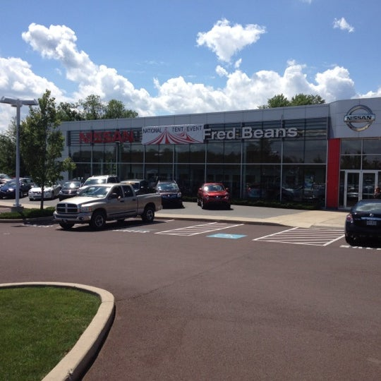 Photo Taken At Fred Beans Nissan Of Linerick By Bart L. On 6/6