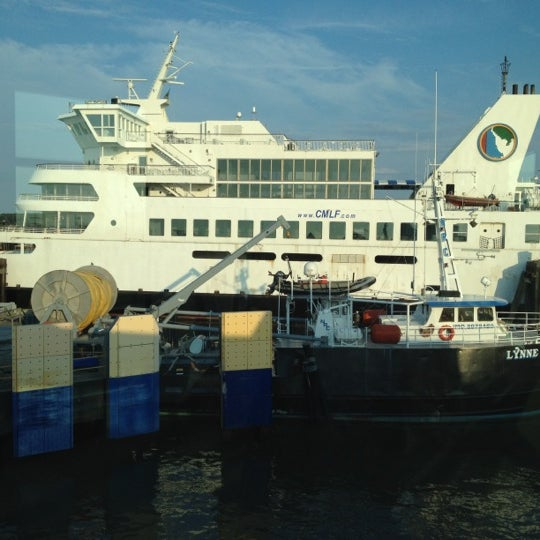 Photo taken at Cape May-Lewes Ferry | Cape May Terminal by Josh R. on 8/12/2012