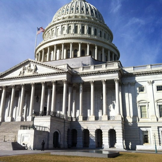 Photo taken at United States Capitol by Jeff W. on 2/21/2012