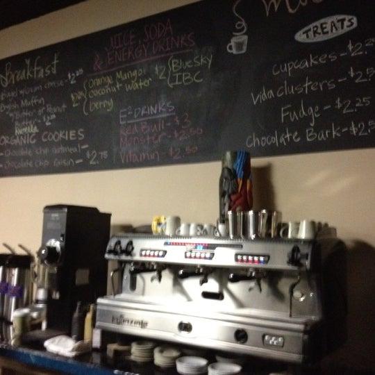 Photo taken at Mocha Vida Cafe by Wes W. on 2/17/2012