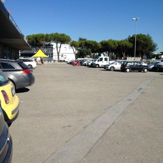 Photo taken at Parcheggio Via Sassonia by Namer M. on 6/27/2012