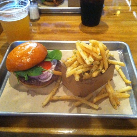 Photo taken at Chop House Burger by Kim G. on 4/26/2012