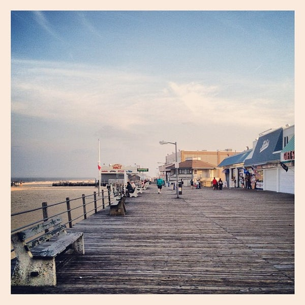 Photo taken at Point Pleasant Beach Boardwalk by Justin H. on 5/16/2012