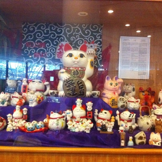 Photo taken at Muzium Kucing (Cat Museum) by Nor Aishah M. on 5/7/2012