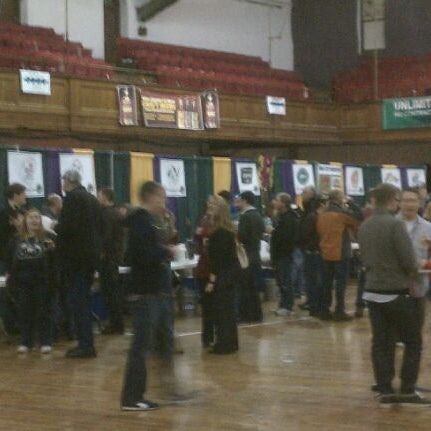 Photo taken at Main Street Armory by Dave E. on 2/18/2012