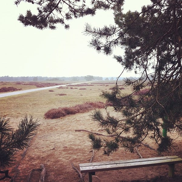 Photo taken at Nationaal Park De Hoge Veluwe by Ward W. on 2/26/2012