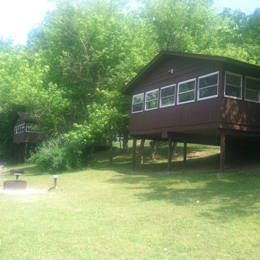 Photo taken at Salt Fork Lodge & Conference Center by Patrick N. on 6/17/2012