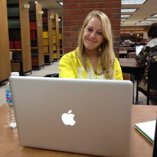Photo taken at UWM Golda Meir Library by Tina W. on 3/26/2012