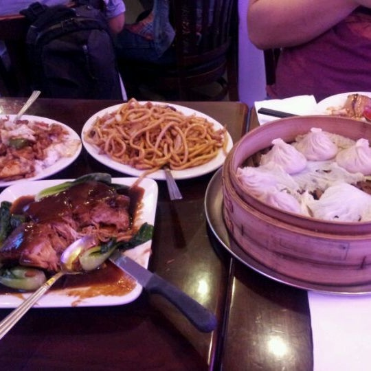 Photo taken at Shanghai Café Deluxe by Jeffrey X. on 3/23/2012