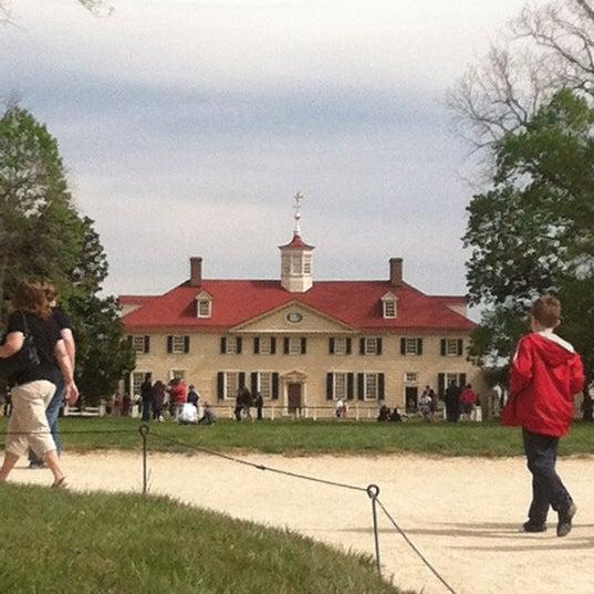 Photo taken at George Washington's Mount Vernon by Megan C. on 4/5/2012
