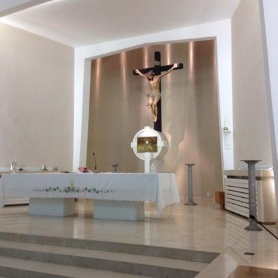 Photo taken at Paróquia Santa Mônica by Victor B. on 7/27/2012