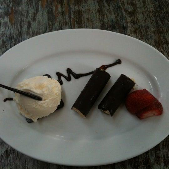 Deliciosos los palitos de chocolate con helado de baileys