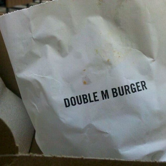 Photo taken at M Burger by Chellz on 4/2/2012