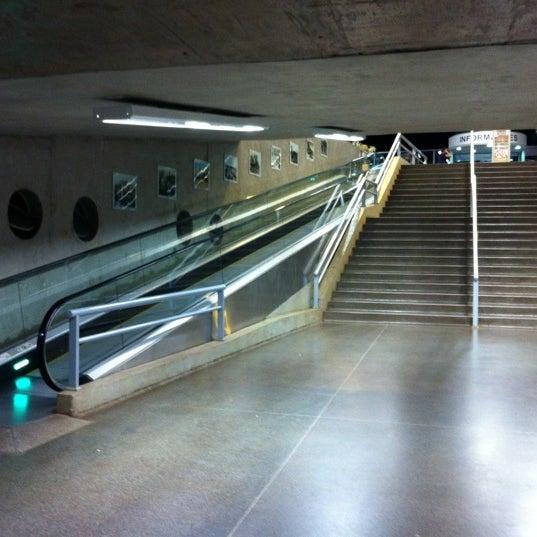 Photo taken at Terminal Rodoviário José Garcia Villar by Caco P. on 3/18/2012