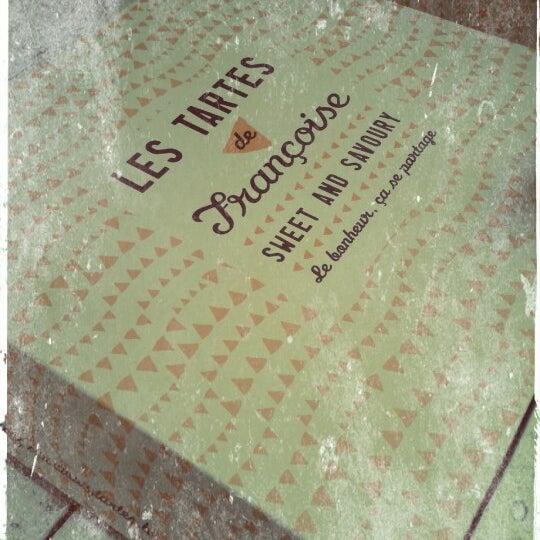 Photo prise au Les Tartes de Françoise par Nicolas le7/28/2012