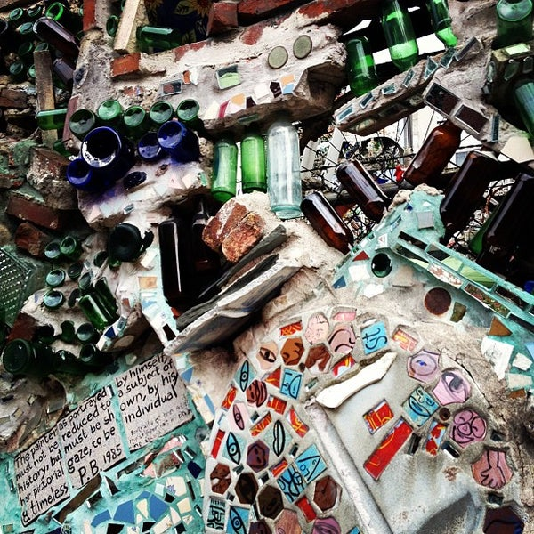 Photo taken at Philadelphia's Magic Gardens by Emily L. on 7/28/2012