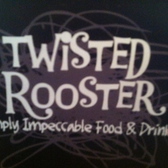 Photo taken at Twisted Rooster by Thom K. on 3/20/2012