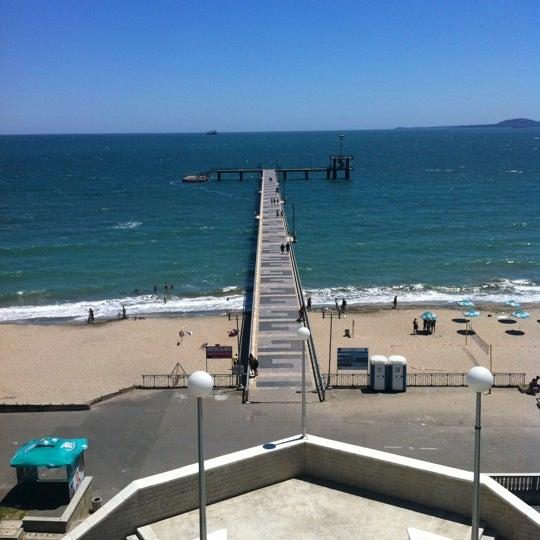 Foto scattata a Централен Плаж Бургас (Burgas Central Beach) da Rosen B. il 6/18/2012