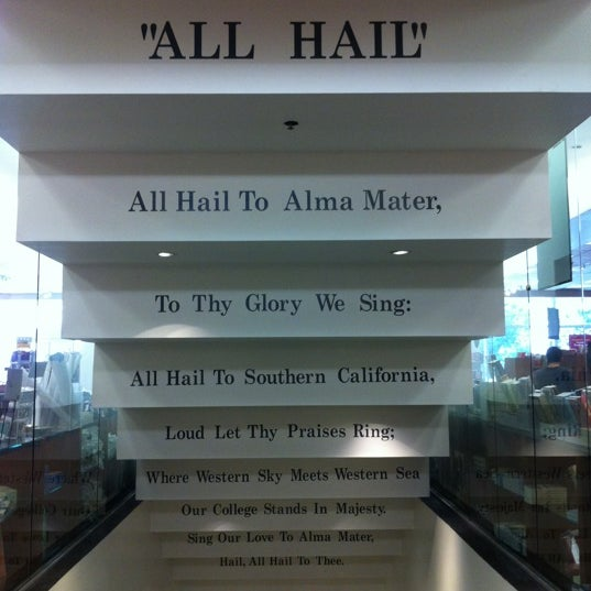 Photo taken at USC Bookstore (BKS) by Noha A. on 5/6/2012