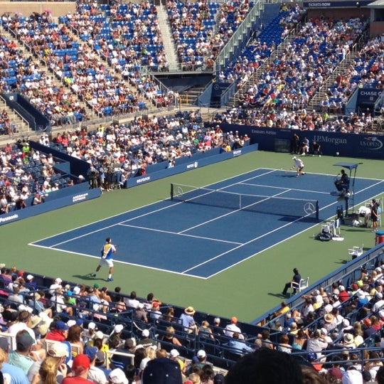 Photo taken at US Open Tennis Championships by Roger K. on 9/1/2012