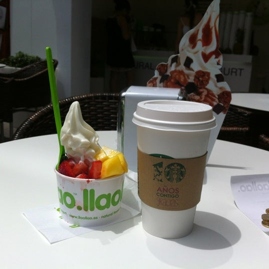 Photo taken at llaollao by Alina K. on 6/13/2012