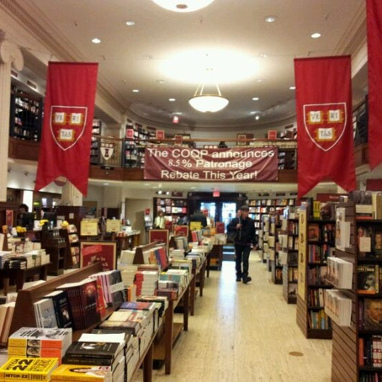 Photo taken at Harvard Coop Society Bookstore by tolkine9999 on 4/24/2012