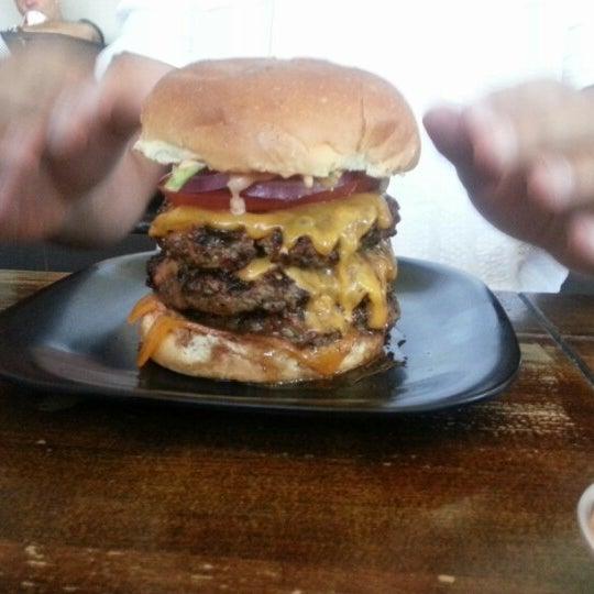 Photo taken at G Burger by RJO on 8/10/2012