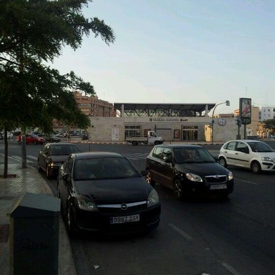 Photo taken at Estació de Tren - València-Cabanyal by Ximo E. on 5/31/2012