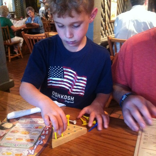 Photo taken at Cracker Barrel Old Country Store by Julia A. on 9/1/2012