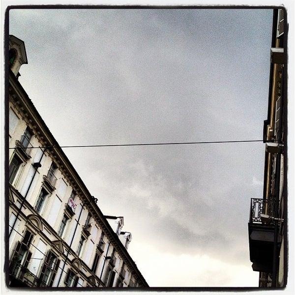 Photo taken at Via Po by Dario B. on 4/6/2012
