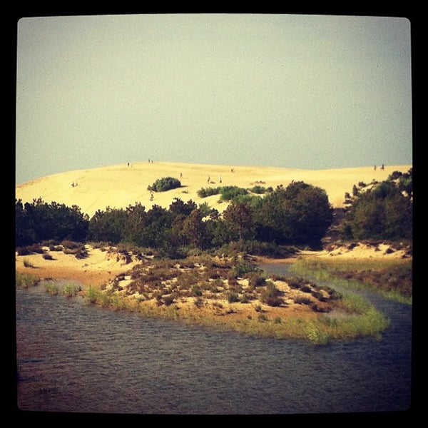 Photo taken at Jockey's Ridge State Park by Laura M. on 7/25/2012