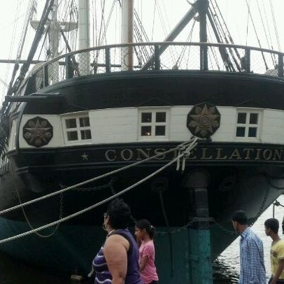 Photo taken at USS Constellation by Diva's Palace R. on 5/6/2012