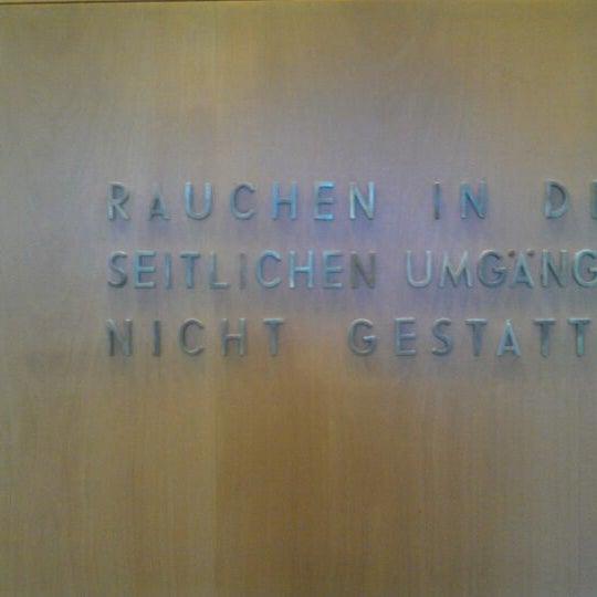 Photo taken at UdK Konzertsaal Bundesallee by kosmar k. on 4/25/2012