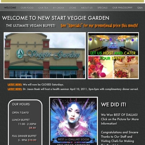 Apparently there's 2 vegan spots in Dallas by the name Veggie Garden in Dallas... Make sure you know you're going to the right one. In this case I went to the wrong one.
