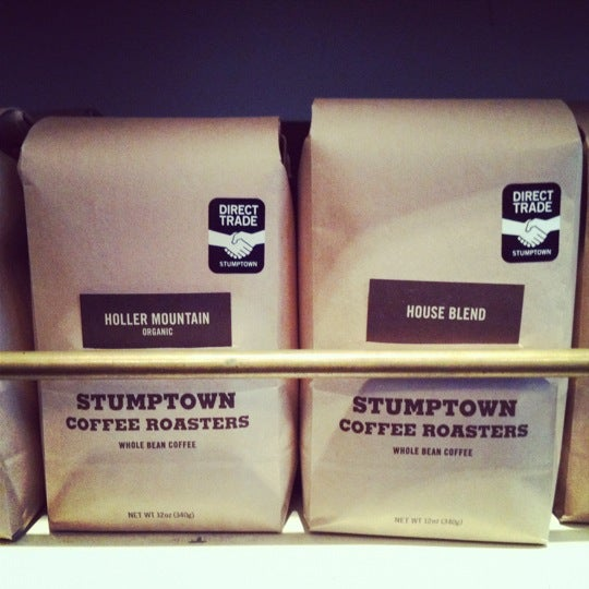Photo taken at Stumptown Coffee Roasters by Mary S. on 3/1/2012