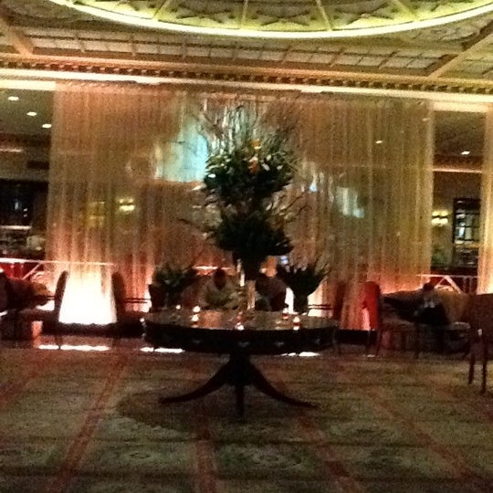 Photo taken at InterContinental New York Barclay by Полина З. on 3/6/2012