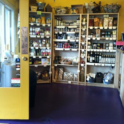 La buona tavola truffle cafe gourmet shop in pike place for T s dining virden